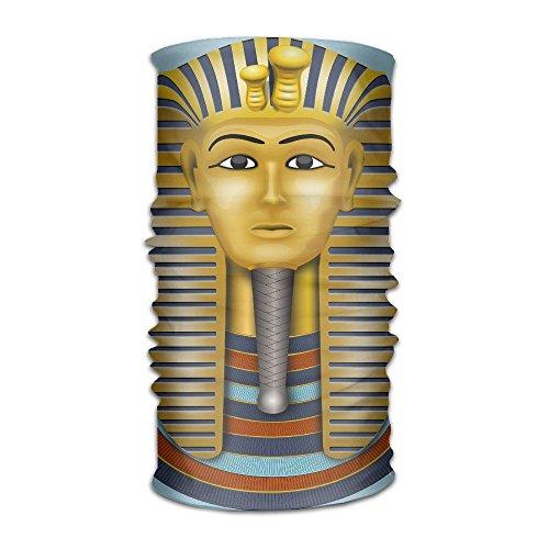 Magic Headwear Egyptian Tutankhamon King Tut Outdoor Scarf Headbands Bandana Mask Neck Gaiter Head Wrap Mask Sweatband ()