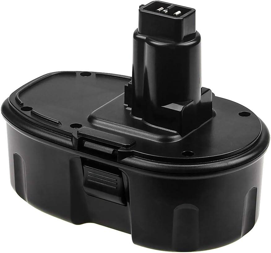 3.6Ah 18 Volt Ni-Mh Replacement Battery Compatible with Dewalt 18V Battery DC9096 DC9098 DC9099 DW9096 DW9098 DW9099 DW9096 DC759 DC970 DW9095 DE9039 DE9095 DE9096 DE9098 DC9181
