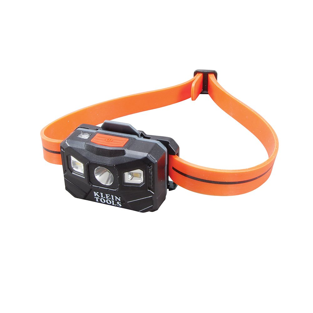 Klein Tools 56034 Head Lamp, Rechargeable Headlamp for Hardhats, LED Spot Lamp and LED Flood Light Lamp by Klein Tools