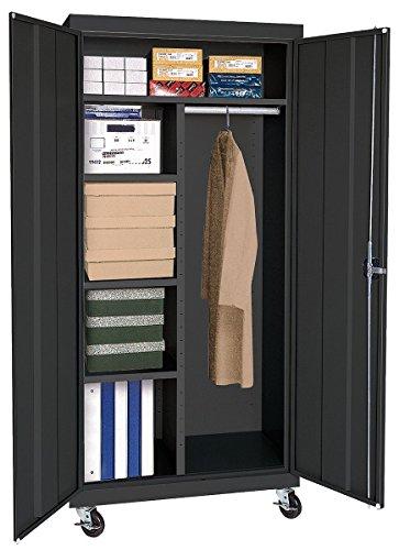 Sandusky Lee TACR462472-09 Transport Series Mobile Combination Storage Cabinet, (Series Mobile Combination Cabinet)