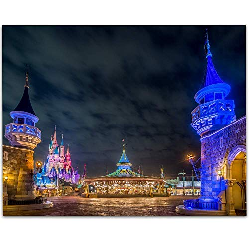 - Walt Disney World The Park Is Now Closed - 11x14 Unframed Art Print - Makes a Great Gift Under $15 for Disney Fans