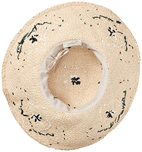 Gottex Women's Punta Cana Raffia Sunhat Packable, Adjustable and UPF Rated