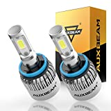 Auxbeam LED Headlights F-S2 Series H11 LED Headlight Bulb with 2 Pcs of