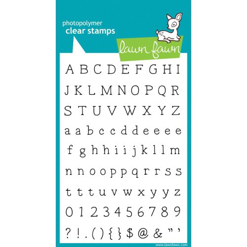 Smitty's Abcs Clear Stamp Set (Lawn Fawn) ()