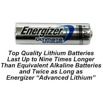 Amazon.com: Eveready Energizer Ultimate Aa Lithium