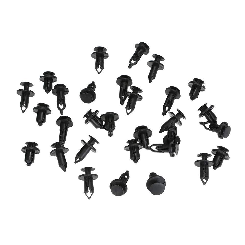 Kit di Accessori per Clip di ritegno per Modanatura KKmoon 40Pcs Rivetto di Fissaggio per Rivetto Auto Rivetto per paraurti Corpo Push Pin