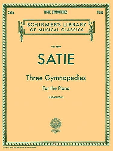 Book 3 Sheet Music (3 Gymnopedies: Piano Solo)