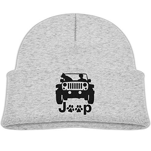 - Baby Beanie Hat Soft Knit Cap Men's Dog Jeep Boys' Girls
