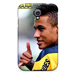 Cute Appearance Cover/tpu Mlk807NKhY The Football Player Of Barcelona Neymar And His New Hairstyle Case For Galaxy S4