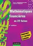 Mathématiques financières - 4ème édition - en 22 fiches