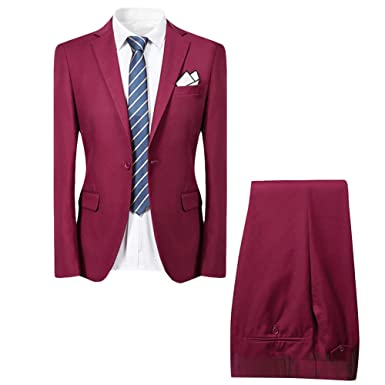 a7e1822c6 Allthemen - Costume - Homme - Rouge - L: Amazon.fr: Vêtements et ...