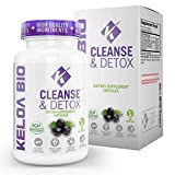 Premium Gentle Body Cleanse & Detox Dietary Supplement by Keloa Bio Natural Antioxidant Combination Formula for Men & Women Improve Digestion Colon Cleanse and Metabolism Boost