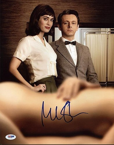Michael Sheen Masters Of Sex Signed 11x14 Photograph - Ce...