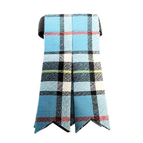 Ingles Buchan Mens Worsted Wool Scottish Tartan Sock Flashes Thomson ()
