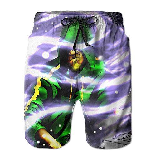 SANDADB Nightclub Comfortable Outdoor Basketball Clothes Printing Swimming Drawstring Board Shorts - Intense Orgy