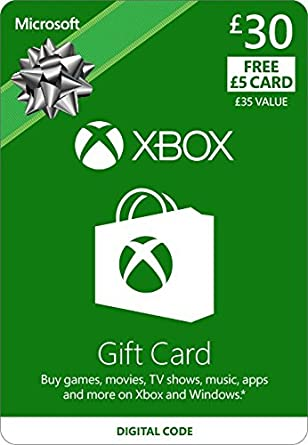 Xbox live 30 gift card 5 free xbox live online code amazon xbox live 30 gift card 5 free xbox live online code negle Images