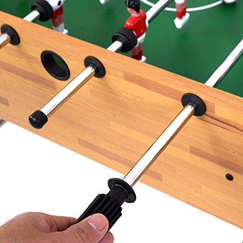 Giantex Foosball Soccer Table 47'' Competition Sized Arcade Game Room Hockey Family Sport by Giantex (Image #3)