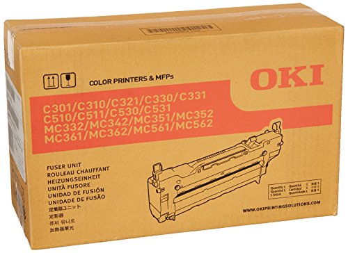 OKI 44472601 Fuser Unit for C301, C310, C530 Printers