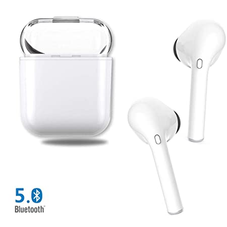 Wireless Bluetooth Headphones,True in-Ear Wireless Earbuds Stereo Mini Bluetooth Headset with Microphone IPX5 Anti-Sweat Sports Earbuds,Suitable for The Gym,Compatible with Most Smartphones