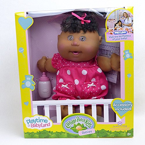 Search : Cabbage Patch Kids babies playtime at babyland African American