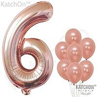 Rose Gold Foil Number Balloons Parent Listing Toys Games