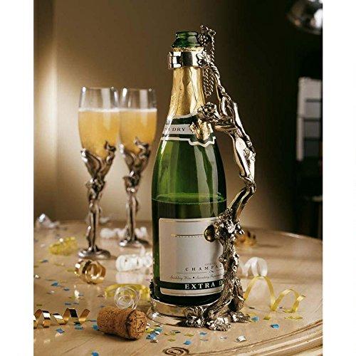 design-toscano-bella-donna-maniglia-del-vino-wine-champagne-stand