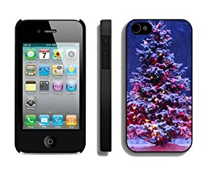 Featured Desin Christmas tree For Samsung Galaxy S6 Case Cover 18 Black