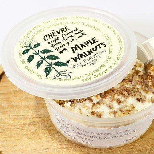 Maple Walnut Chevre by Nettle Meadow (5 ounce)