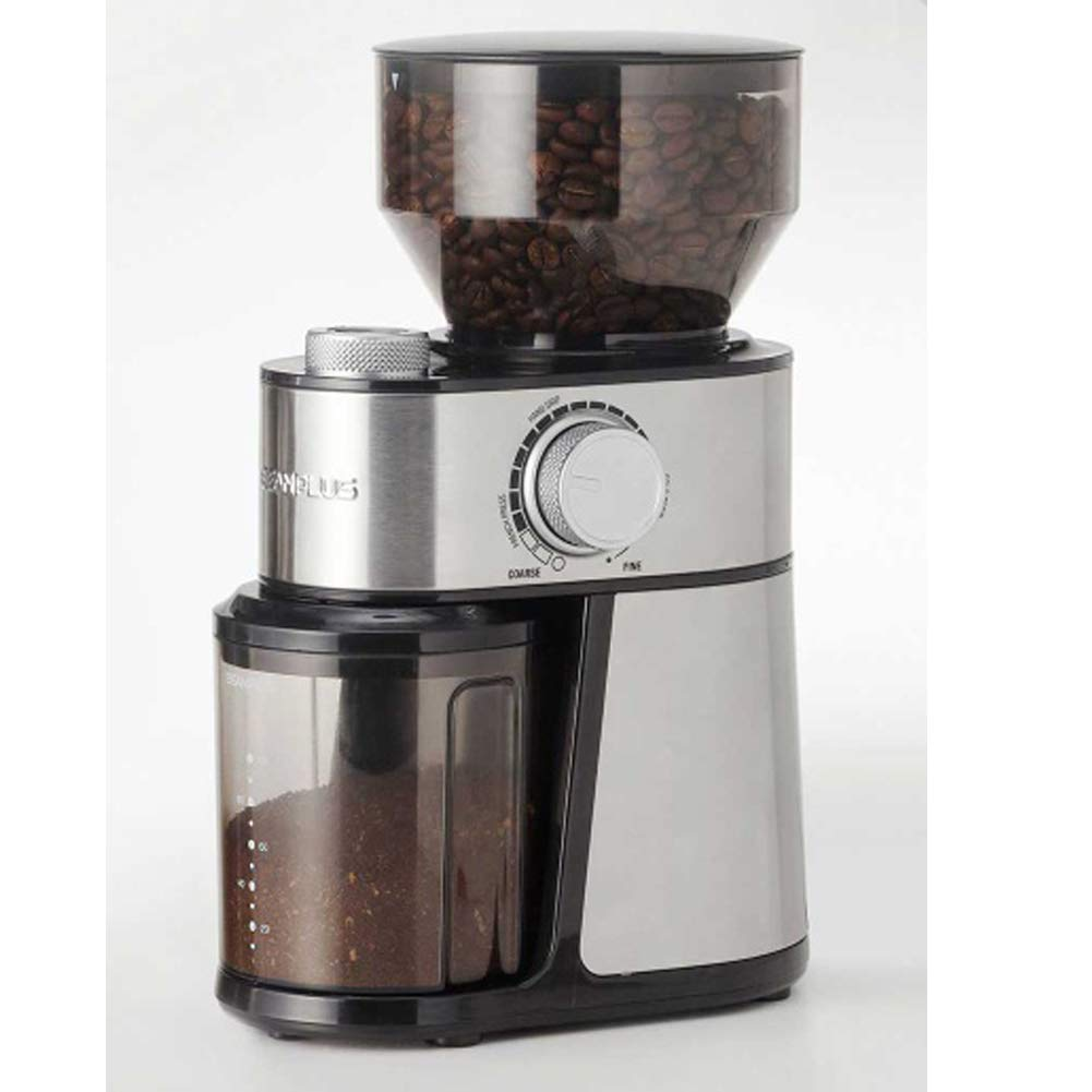 BEANPLUS BCG-200 Flat Burr Electric Coffee Grinder Coffee Bean Grinding Mill 220V by [BEANPLUSOEM] (Image #2)