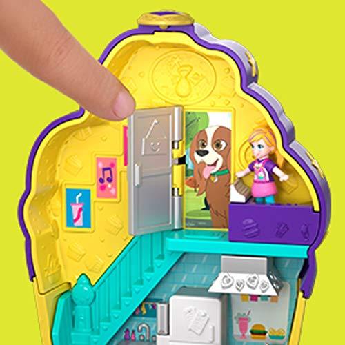 Amazon.es: Polly Pocket Cofre cupcake sorpresa, muñeca con ...