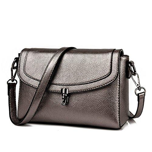 Femmes Messenger Bag Sac DHFUD Bandoulière Boucle De Mode Bag Bronze Mom à Pour 1xUqI