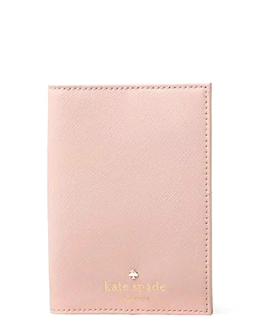 Kate Spade Mikas Pond Leather Passport Holder (WarmVellum)