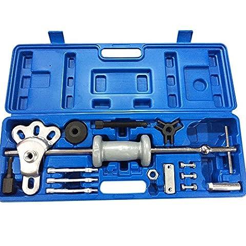 Slide Hammer Dent Puller Set Axle Bearing Dent Hub 2 3 Internal External Gear Puller Set 16-Piece - Rotor Axle
