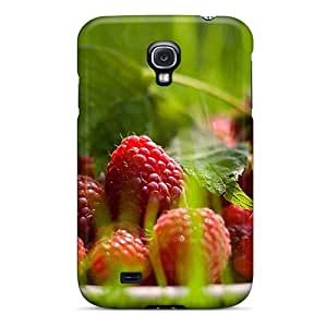 Perfect Red Raspberries Case Cover Skin For Galaxy S4 Phone Case