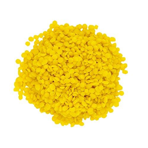 Yellow Beeswax Pellets by Rachel's Naturals, Premium
