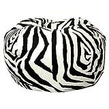 Comfort Research Classic Bean Bag in Zebra