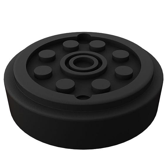con refuerzo de acero ✔ Uso universal ✔ Antideslizante ✔ Varios modelos disponibles Taco de goma para gato hidr/áulico Deuba/®