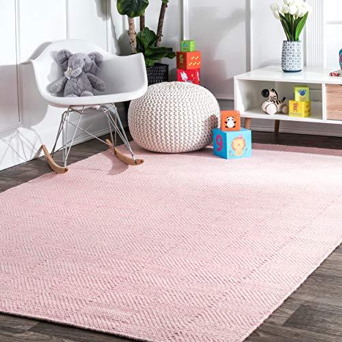nuLOOM Agoja Hand Tufted Wool Rug, 7' 6