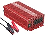 BESTEK Power Inverter 1000 Watt DC 12 Volt Power Converter 1000w DC to AC Car Inverter Electronics Devices Inverter …
