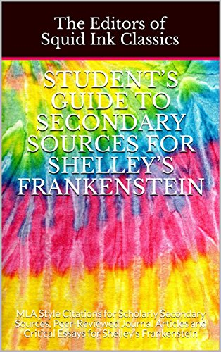 Amazoncom Students Guide To Secondary Sources For Shelleys  Students Guide To Secondary Sources For Shelleys Frankenstein Mla Style  Citations For Scholarly Secondary Sources Need Help For Doing My Assignment also Business Plan Writers Hire  Sample Business Essay