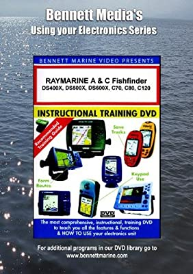 RAYMARINE A & C Series Fishfinder: DS400X,DS500X,DS600X,C70,C80,C120