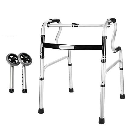 Asistente de movilidad ligero, andador geriátrico plegable ...