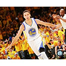 Stephen Curry - 20x24 NBA 2015 Playoffs Action Poster (Golden State Warriors)