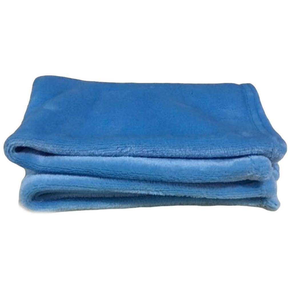Veepola New Super Soft Warm Micro Solid Color Fleece Throw Blanket Rug Sofa Bedding for Kids (White)