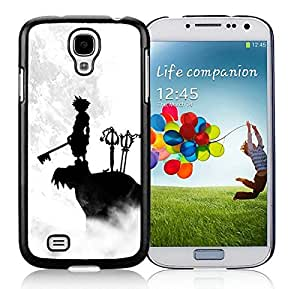 Samsung Galaxy S4 Case,2015 Hot New Fashion Stylish kingdom hearts Black Case Cover for Samsung Galaxy S4 i9500