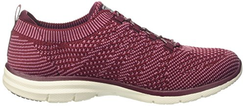 Skechers Rosso Pink Galaxies Allenatori Donna Burgundy 8fnH8YS
