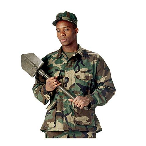 Woodland Camo Bdu Military Shirt - 2
