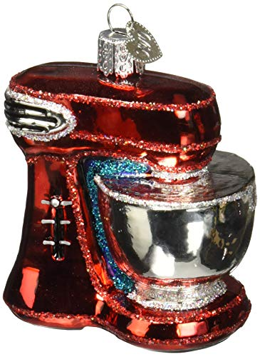 Old World Christmas Glass Blown Ornament Mixer (32270) ()
