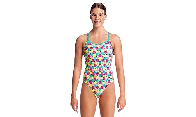 278a025a78b1a Funkita Ladies Diamond Back Minty Mittens One Piece Swimwear: Amazon.co.uk:  Clothing
