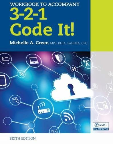 Student Workbook For Green's 3-2-1 Code It!, 6th